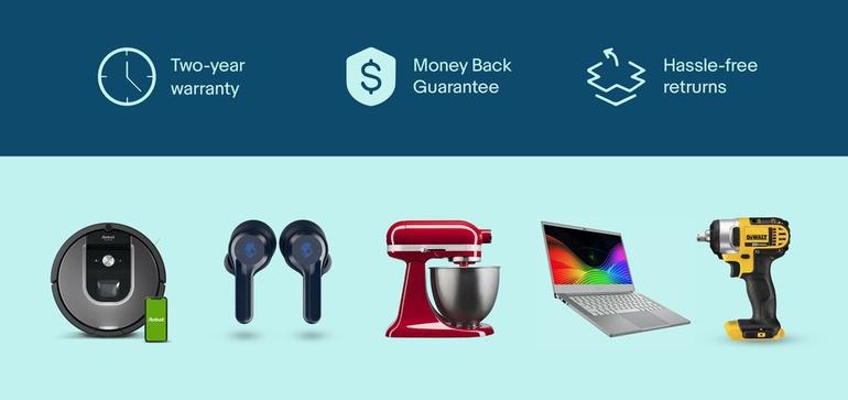 "eBay创建了""经认证的翻新""计划来转售二手商品"