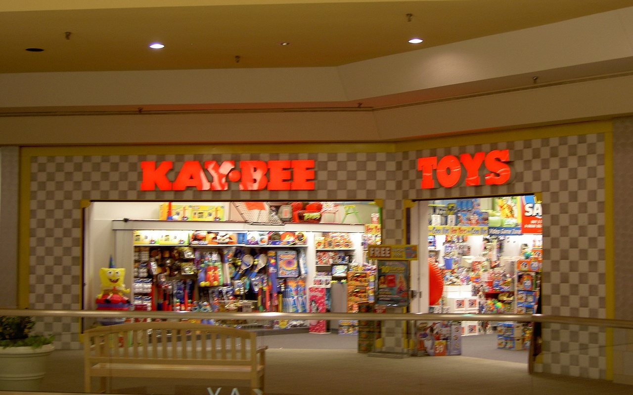 KB Toys filed for bankruptcy in both 2004 and 2008, liquidating in 2009