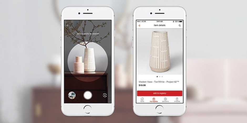 Target teams with Pinterest for visual search