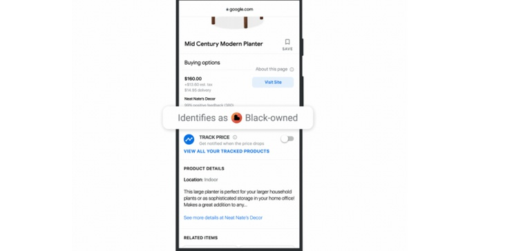Google introduces Black-owned business distinction in its Shopping tab