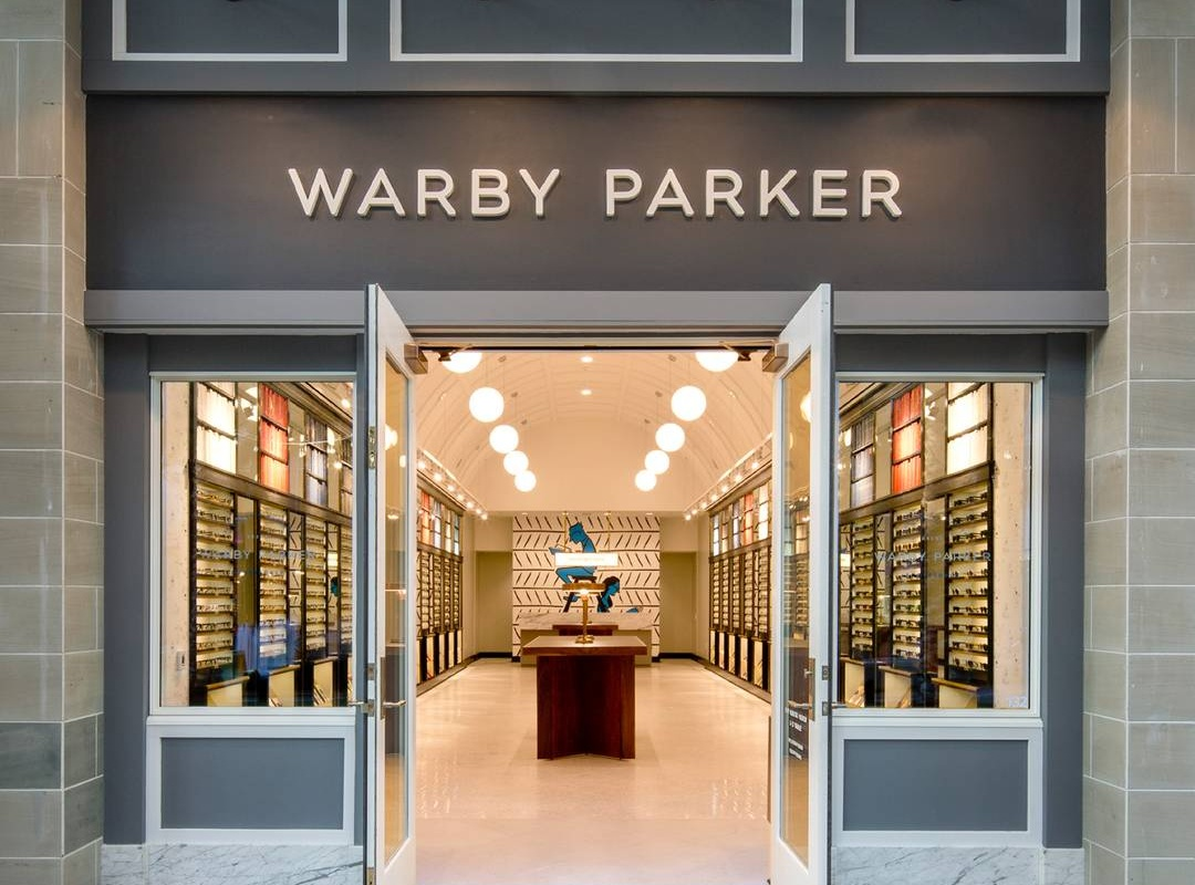 Warby Parker emphasis on offline experience