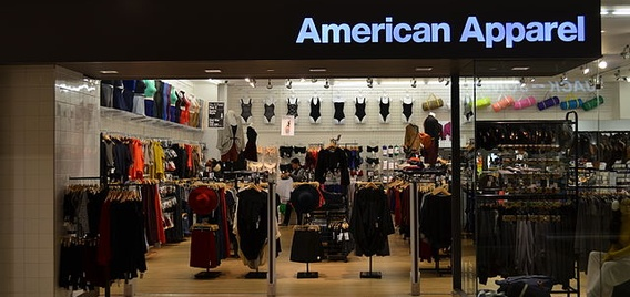 American Apparel Chapter 11 bankruptcy