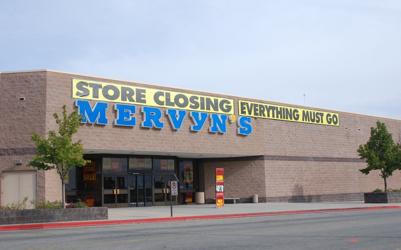 Mervyn's filed for bankruptcy in 2008 and liquidated months later