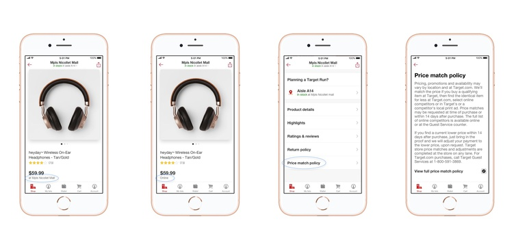Target updates app after pricing dispute | Retail Dive